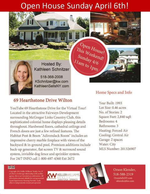 69 Hearthstone Open House Apr 6
